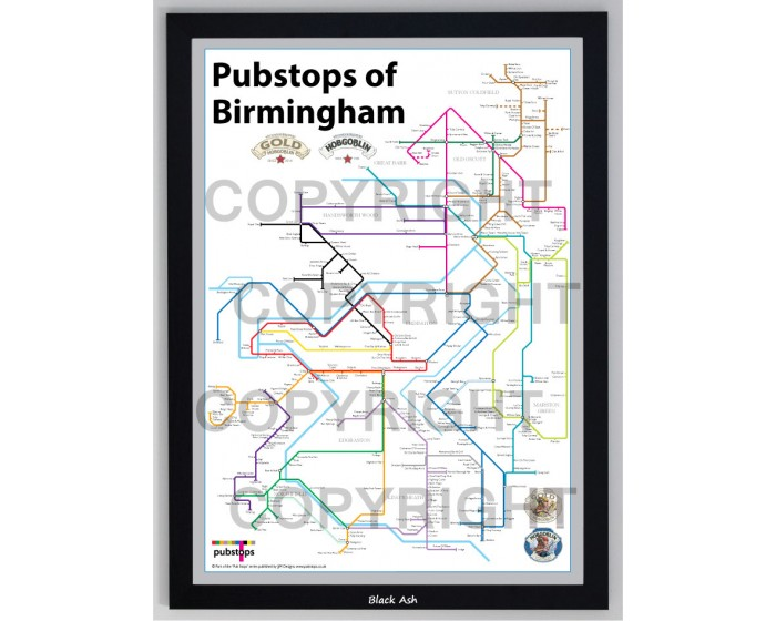 Birmingham Black Ash Frame