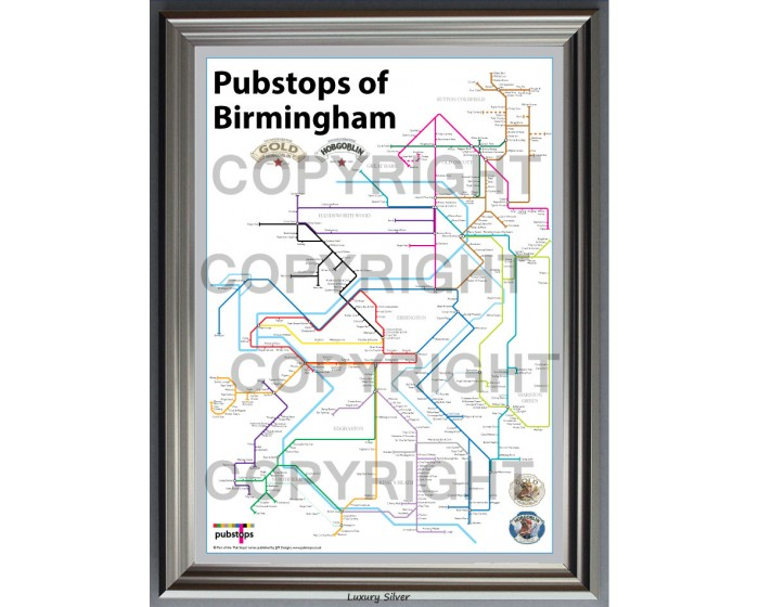 Birmingham Luxury Silver Frame