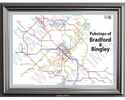 Bradford & Bingley Luxury Silver Frame