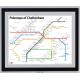 Cheltenham Black Ash Frame