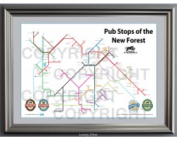 New Forest Luxury Silver Frame