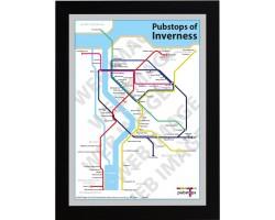 Inverness Black Ash Frame