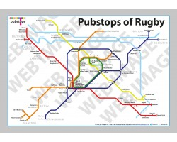 Rugby Unframed In a Gift Box