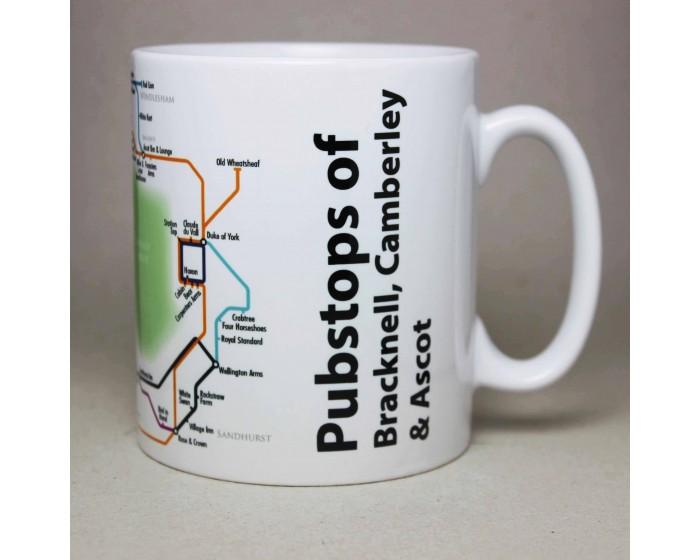 Bracknell, Camberley & Ascot Mug