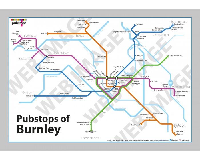 Burnley Unframed