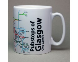 Glasgow (City Centre) Mug In Gift Box