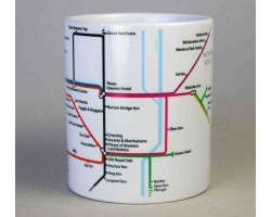 Burton upon Trent Centre Mug