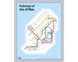 Isle of Man Unframed In a Gift Box
