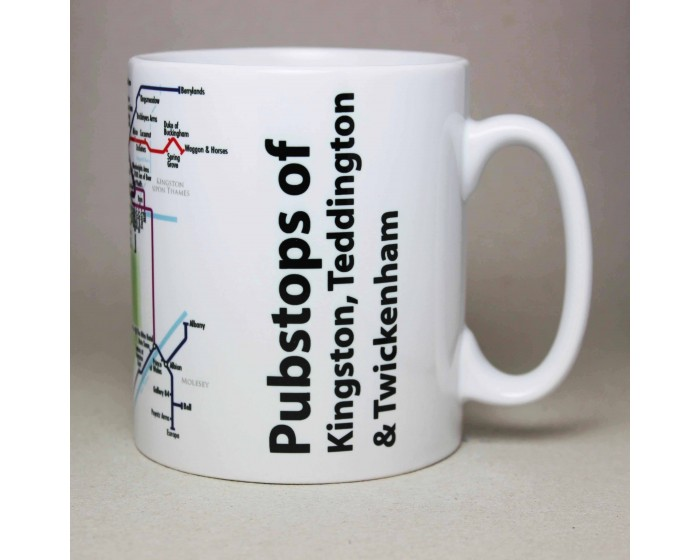 Kingston, Teddington & Twickenham Mug