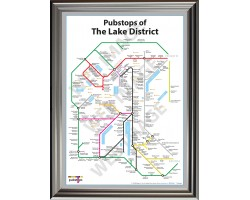 Lake District Luxury Silver Frame