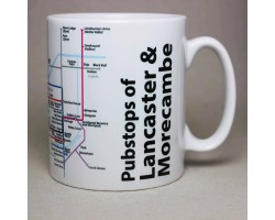 Lancaster and Morecambe Mug In Gift Box
