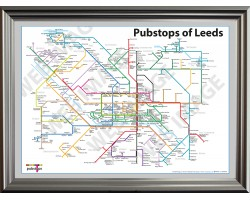 Leeds Luxury Silver Frame