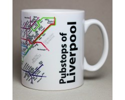 Liverpool City Centre Mug