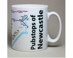 Newcastle City Centre Mug  In Gift Box