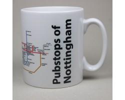 Nottingham City Centre Mug  In Gift Box