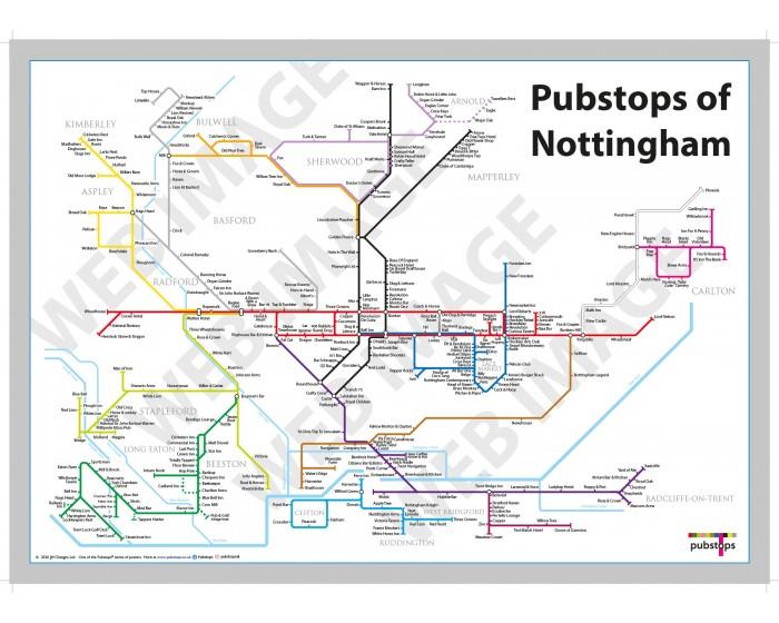 Nottingham Unframed