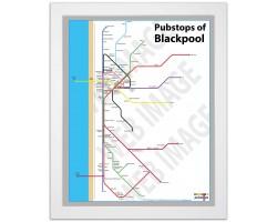 Blackpool White Ash Frame