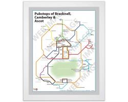 Bracknell, Camberley & Ascot White Ash Frame