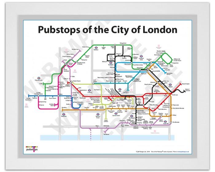 City of London White Ash Frame