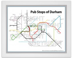 Durham White Ash Frame