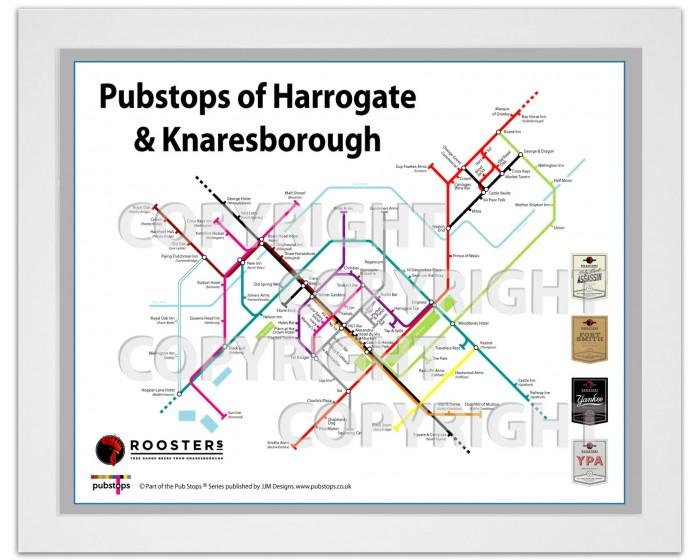 Harrogate & Knaresborough White Ash Frame