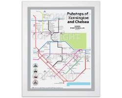 Kensington & Chelsea White Ash Frame