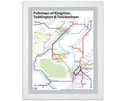 Kingston, Teddington & Twickenham White Ash Frame