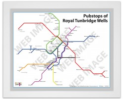 Royal Tunbridge Wells White Ash Frame