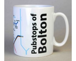 Bolton City Centre Mug  In Gift Box