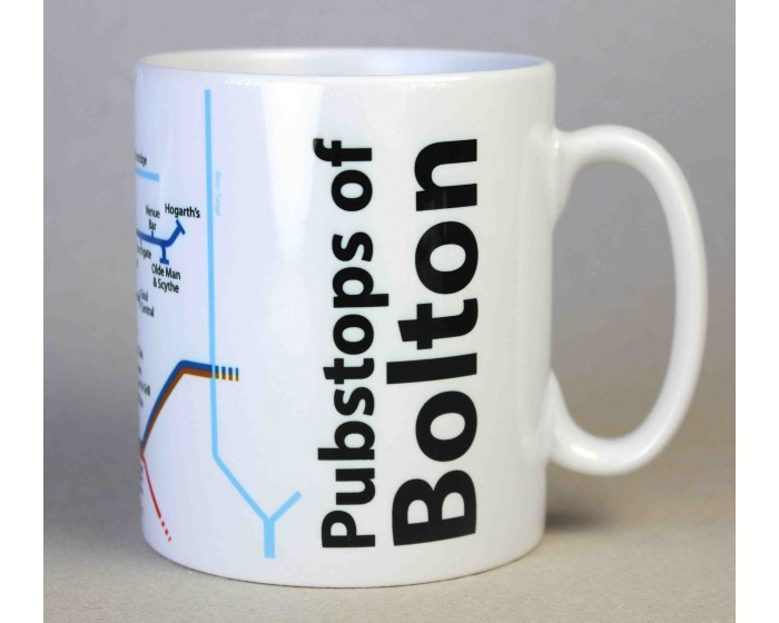 Bolton City Centre Mug