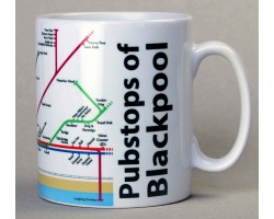 Blackpool Mug  In Gift Box