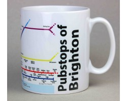 Brighton Mug  In Gift Box