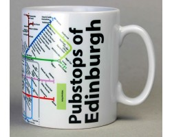Edinburgh City Centre Mug  In Gift Box