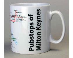 Milton Keynes Mug  In Gift Box