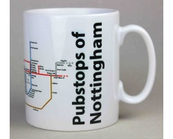 Nottingham City Centre Mug