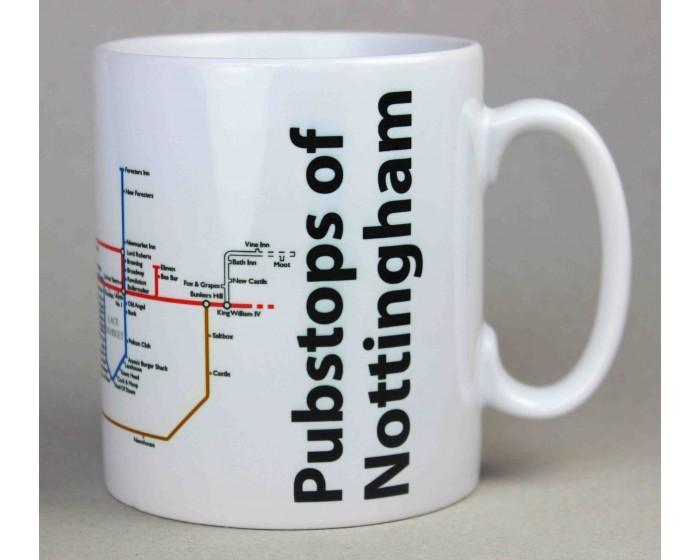 Nottingham City Centre Mug
