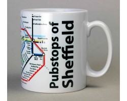 Sheffield City Centre Mug  In Gift Box