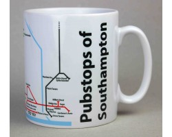 Southampton City Centre Mug  In Gift Box