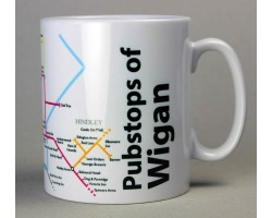 Wigan Mug  In Gift Box