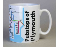 Plymouth City Centre Mug  In Gift Box