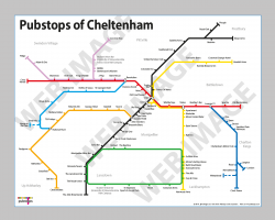 Cheltenham Unframed In a Gift Box